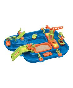 Another great find on #zulily! Sand & Water Play Set by American Plastic Toys #zulilyfinds