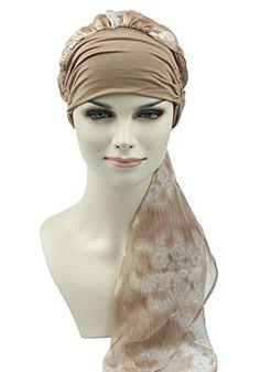 99a8501cf977 FocusCare la chimio turban pour les femmes cancer confortable tissu  coiffure en bambou