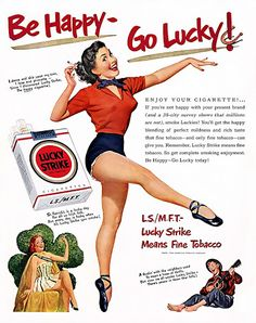 Lucky Strike Vintage ads