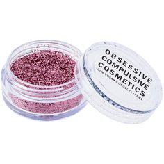 Obsessive Compulsive Cosmetics Cosmetic Glitter ($15) ❤ liked on Polyvore featuring beauty products, makeup and beauty
