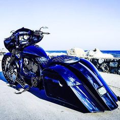 Sick bagger w/ our Black Double Cut Simply Sinister wheel! The Simply Sinister…