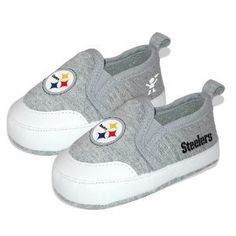Amazon.com: NFL Pittsburgh Steelers Baby Pre-Walk Shoes.