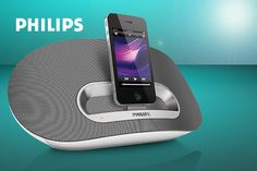 Philips DS3600/05 iPod, iPhone & iPad docking speaker system with Bluetooth - save 33%