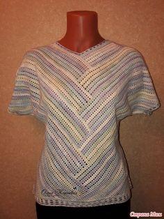 How to Crochet a Little Black Crochet Dress - Crochet Ideas Crochet T Shirts, Crochet Cardigan, Crochet Clothes, Crochet Woman, Crochet Lace, Wrap Clothing, Summer Knitting, Crochet Fashion, Beautiful Crochet