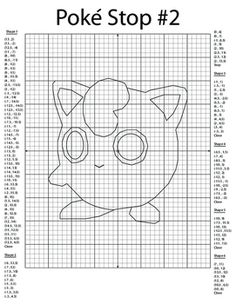 This is a coordinate plane activity where students plot points and connect them to create a picture of the Pokemon character Jigglypuff. This is one of many Pokemon graphs in the works. Graphing Worksheets, Graphing Activities, Pokemon, Claves Wifi, Plane Drawing, 7th Grade Math, Fun Math, Teacher Gifts, Charmander