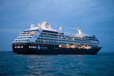 The Azamara Journey in Guernsey.