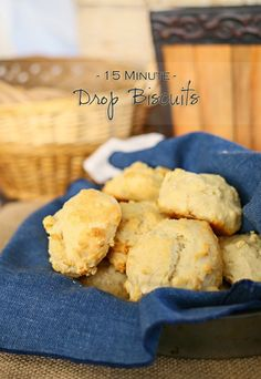 15 Minute Drop Biscuits are an easy homemade biscuit recipe that is perfect for every dinner. It brings Easy Family Dinner Ideas to a whole new level. Easy Drop Biscuits, Homemade Biscuits Recipe, Biscuit Recipe, Hottest Curry, Powder Recipe, Easy Family Dinners, Curry Recipes, Bread Recipes, Dessert Recipes