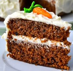 Mrkvový dort Czech Recipes, Ethnic Recipes, Sweet And Salty, Carrot Cake, Stevia, Vanilla Cake, Sweet Recipes, Starbucks, Banana Bread