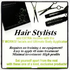 Could you benefit from an extra $25-$50 per client that you already service? How about attracting new clientele? It Works has the perfect product line to entice existing and new clients. It takes seconds to apply and can be worn while getting hair or nails done. Text me today to find out how to increase your revenue!! (913) 206-8304  #hair #nails #skinnywrap #workfromhome #hairsalon #beautyshop #stylist