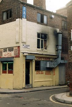 Manchester 1980S Cafe Yaqub 1987