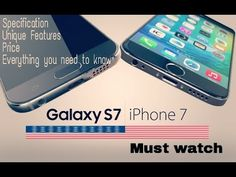 nice Apple iphone 7 vs samsung galaxy s7 - All You Need To Know Check more at http://gadgetsnetworks.com/apple-iphone-7-vs-samsung-galaxy-s7-all-you-need-to-know/