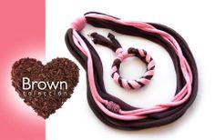 """""""Yo tan fresa y tu tan Chocolate""""...combinación perfecta para una accesorio! #trapillo"""