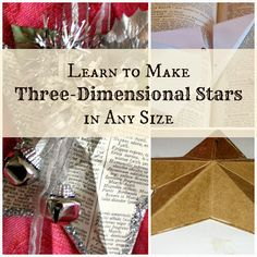 House Revivals: Dimensional Five-Pointed Star Tutorial