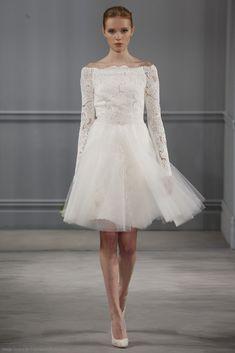 40 modelos de vestido de noiva simples curto 2018