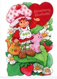 Strawberry Shortcake art