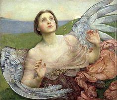 """Sense of Sight"" 1895 Annie Louise Swynnerton"