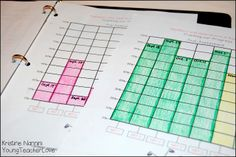 Young Teacher Love: Math and ELA Student Data Tracking Binders and a Freebie