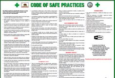 Today's Featured Product - Code of Safe Practices Poster  For information to get one of this, reach us at:  http://pcs-consultants.com/productInfo.php?productID=163=84 Toll-Free: (866) 413-4103 Email/ Online Support: info@pcs-consultants.com  #PCSConsultantsInc #CodeofSafePracticesPoster #HelpingYouMoveAhead