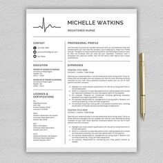 Minimalist Resume Template Resume Template Instant Download ▫ Professional Resume Template .