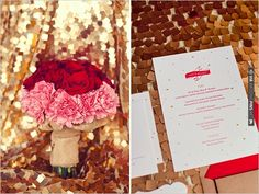 red and white wedding ideas | VIA #WEDDINGPINS.NET