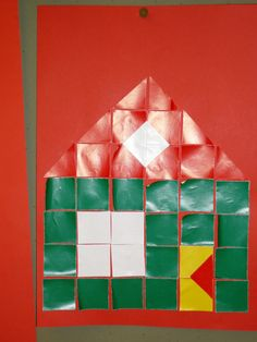 Thema thuis: Huis blokjesboek Thea van Mierlo