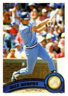 2011 Topps #135b Dale Murphy Front