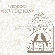 Vector pattern for wedding invitation bedroom design