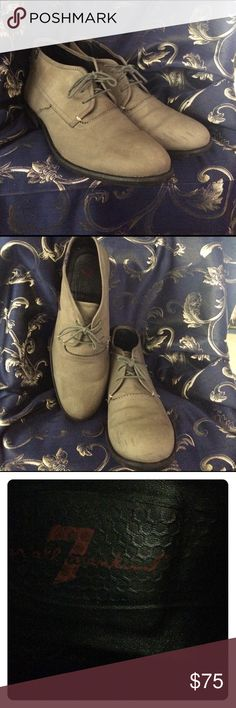 Seven of all mankind Size 10.5 This is a pair of seven of all mankind gray men's boots ,size 10.5 this boots are suede these boots are too light scuffs on the inner front of the toes light black scuffs. seven of all mankind Shoes Ankle Boots & Booties