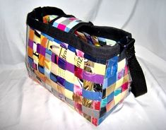 Woven Magazine Bag and Wallet - PURSES, BAGS, WALLETS