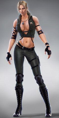 Mortal Kombat-Sonya Blade
