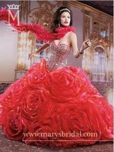 Discount 2014 Marys Quinceanera Dresses Style MAYS013