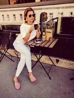 White Jeans, Lights, Collection, Decor, Fashion, Highlight, Decoration, Decorating, Moda