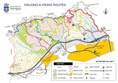 Map and guide to some of Benalmadena's best Walking & Hiking Routes