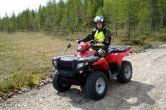All terrain vehicule trip