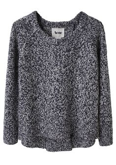 I miss you already, winter - Acne Ruth Marled Pullover