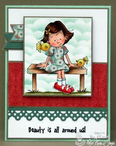Beauty is All Around us by MrsOke - Cards and Paper Crafts at Splitcoaststampers
