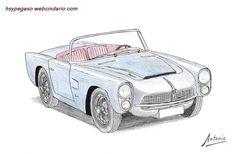 Pegaso Z-102 Cabriolet Serra (1959) http://pegasos.webcindario.com/mserra.htm#cs1959