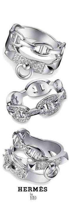 261b1d428846 ➗Hermes Rings Hermes Ring, Hermes Jewelry, Jewelry Box, Fine Jewelry, Hermes