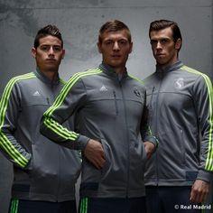 James Rodríguez, Toni Kroos & Gareth Bale new shirts Real Madrid
