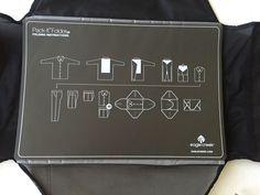 Sold! Packing for travel made easy! Eagle Creek Pack It FOLDER20 Pack It System Black | eBay