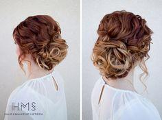 Haj és Make-up by Steph: Menyasszonyi Műhely Stylists, Hair Beauty, Bridal, Bride, The Bride, Cute Hair