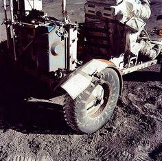 Apolo 17 - Cinta adhesiva en el guardabarro