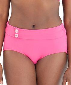 a1e46de7997 Curvy Kate Flamingo Luau Love High-Waist Bikini Bottoms - Plus Too