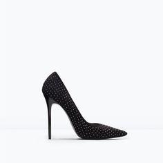 ZARA - WOMAN - Micro studded court shoe
