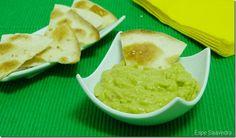 Receta de guacamole con tortitas de trigo de Espe Saavedra