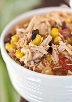 Clean Eating Slow Cooker Southwestern Stew
