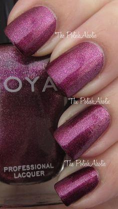 Zoya Carly, a little glitter on the nails never hurt