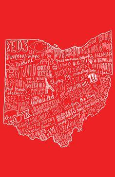 Cincinnati, Ohio -- home <3. I miss it.  I miss the food. I miss the conservativeness!  I miss the rolling hills! I miss having four seasons! I miss the way of life! I'm over Texas.