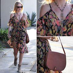 Kate Bosworth Topshop Dress June 4, 2012