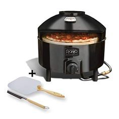 Pizzacraft Pizzeria Pronto Outdoor Pizza Oven - PC6000 and Pizzacraft Pizza Oven Accessories/Folding Peel & Stone Brush - PC0217 Review